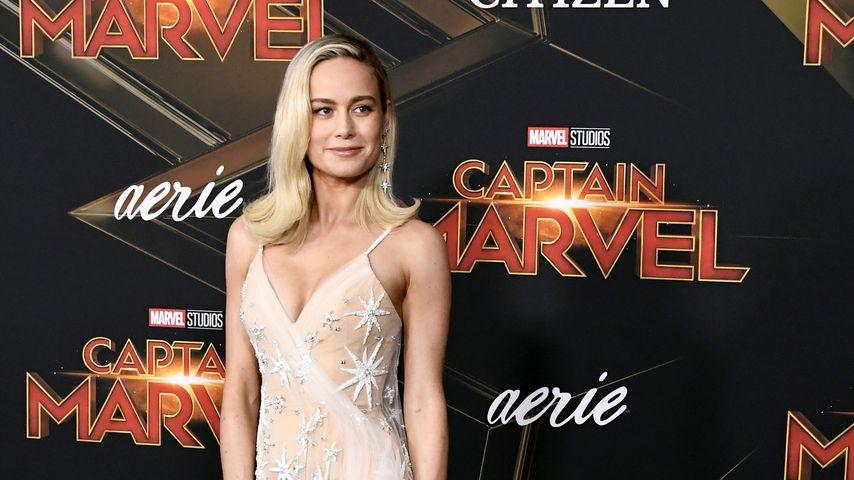 """Brie Larson bei der """"Captain Marvel""""-Premiere in Hollywood im März 2019"""