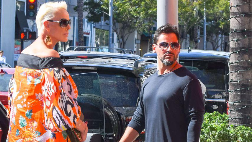 Brigitte Nielsen und Mattia Dessi in Los Angeles