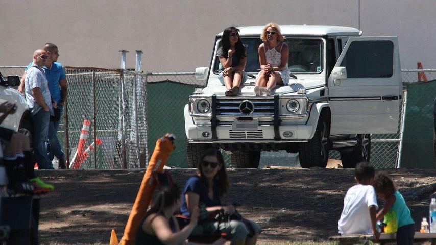 Seltenes Bild: Britney Spears ganz vertraut mit Mama Lynne