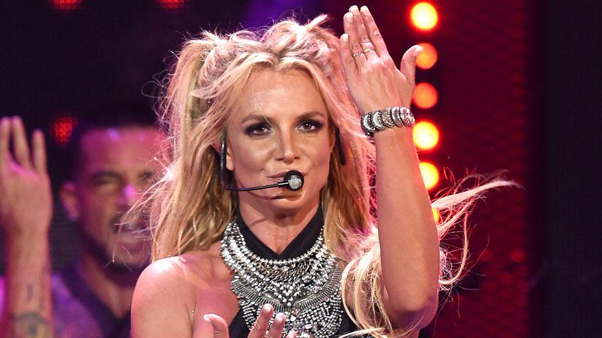 Britney Spears beim iHeartRadio Music Festival 2016