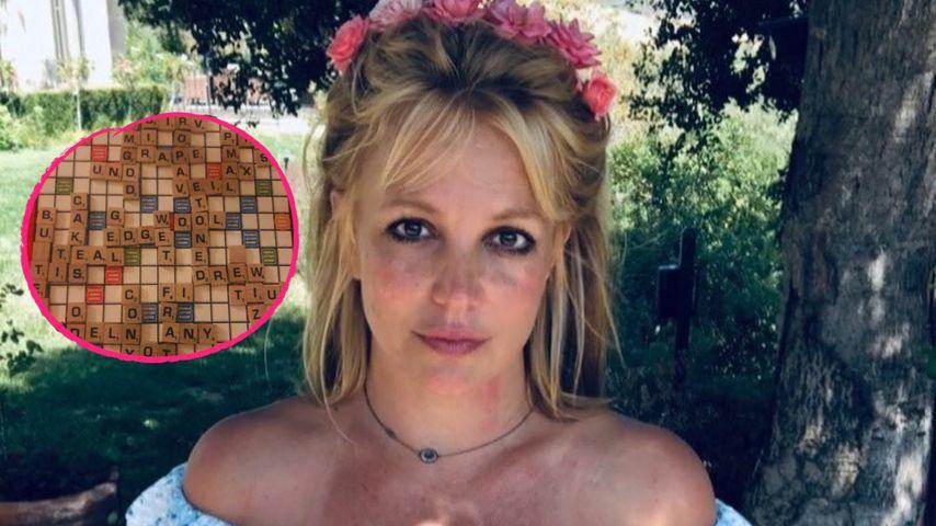 Schickt Britney Spears Hilferuf durch Scrabble-Spielsteine?