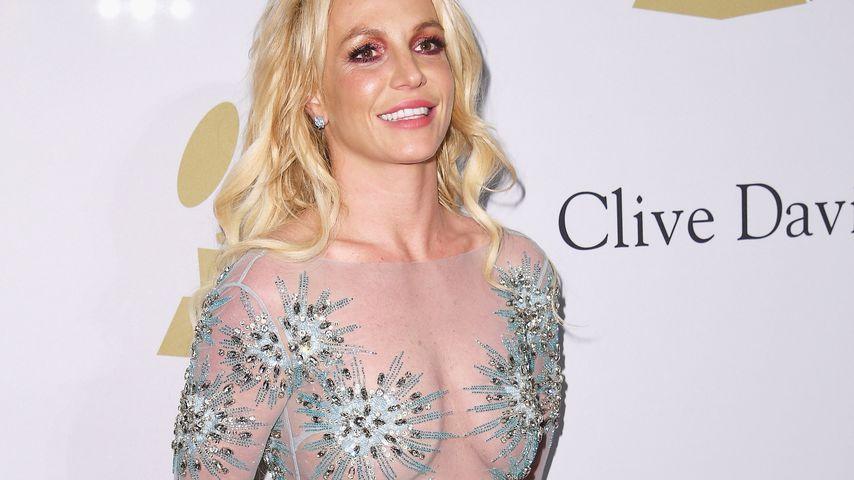 Britney Spears auf der Pre-Grammy Gala 2017