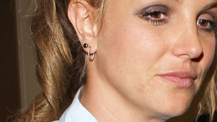 Dunkle Augenringe: Britney Spears total fertig