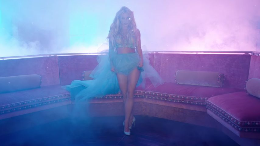 "Britney Spears in ""Slumber Party"""
