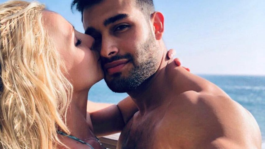 Britney Spears und Sam Asghari im November 2018
