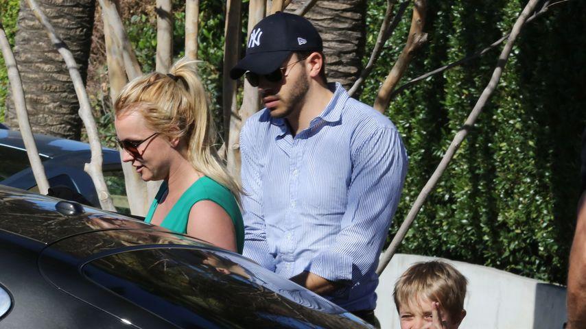 Hier zeigt Britney Spears' Freund Papa-Qualitäten