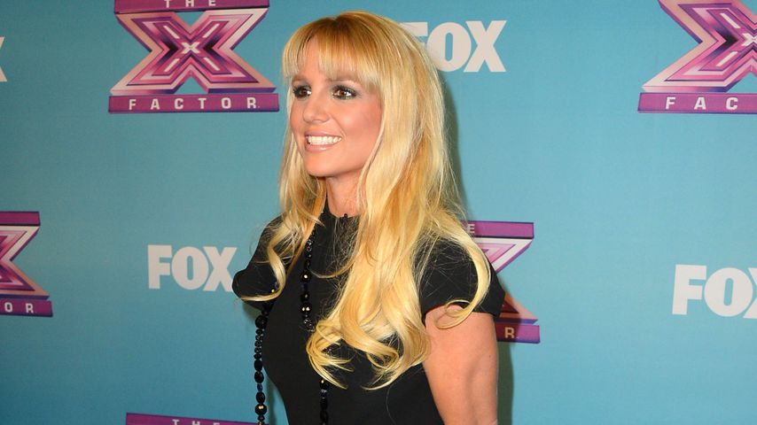 """Britney Spears beim """"The X Factor""""-Finale in Los Angeles, 2012"""