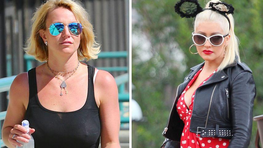 Britney ist sauer: Zoff mit Christina Aguilera neu belebt!