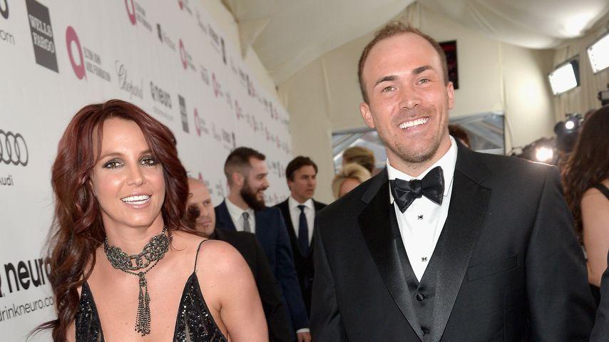 Britney Spears und David Lucado im März 2014 in West Hollywood