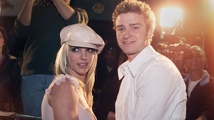 Britney Spears und Justin Timberlake, Hollywood 2002