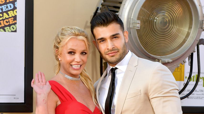 """Britney Spears und Sam Asghari bei der """"Once Upon a Time in Hollywood""""-Premiere in L.A."""