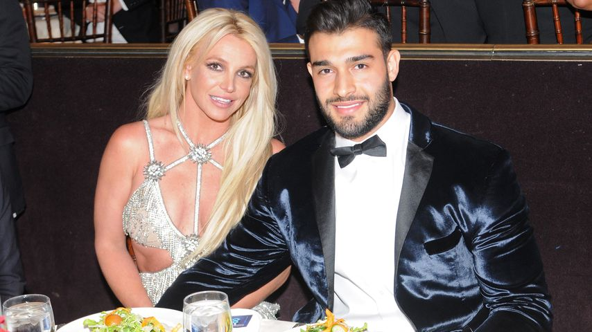 Britney Spears und Sam Asghari bei den GLAAD Media Awards in Los Angeles, 2018