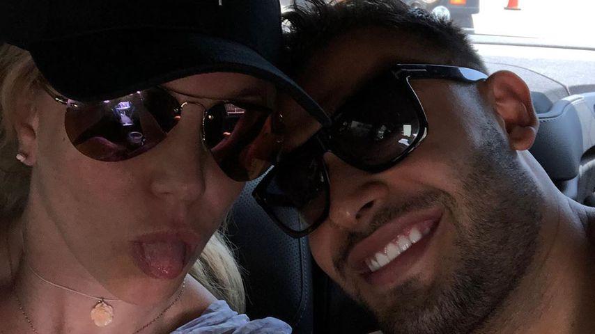 Britney Spears und ihr Freund Sam Asghari