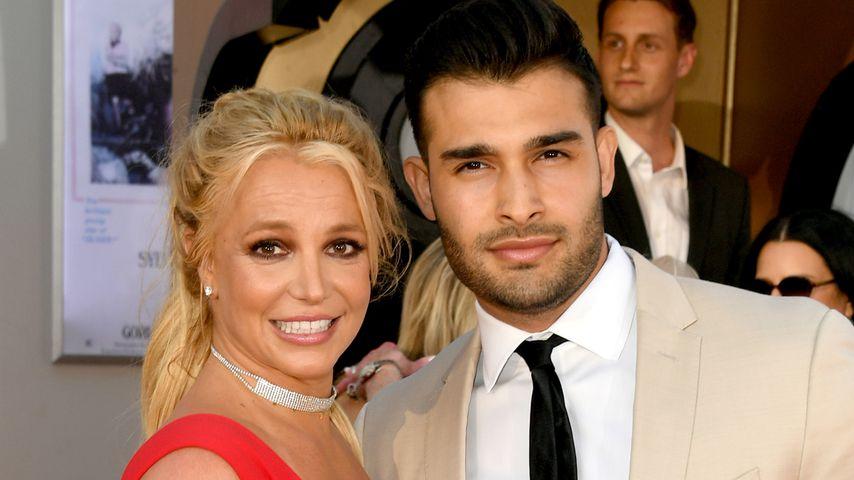 Britney Spears und Sam Ashgari im Juli 2019 bei einer Filmpremiere in Hollywood