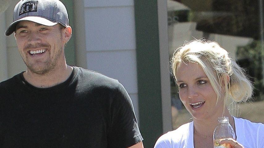 Britney Spears und ihr David so glücklich zusammen