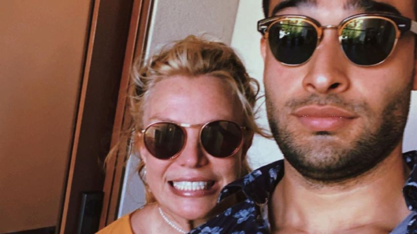 Britney Spears und Sam Asghari, November 2020