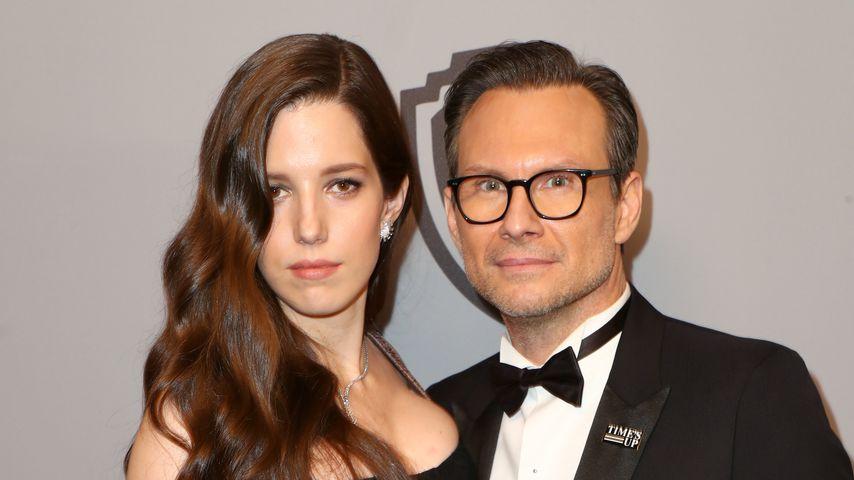 Mit Ehefrau Nummer zwei: Christian Slater ist Papa geworden!