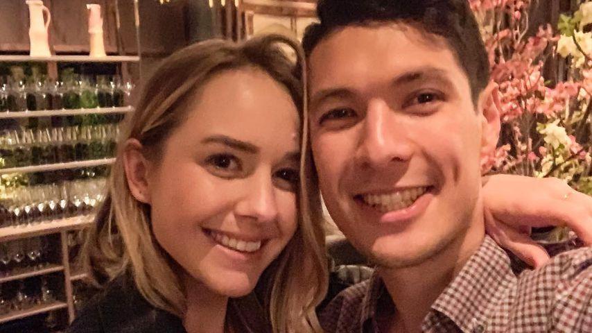 Brittni Nowell und John Graham im April 2019