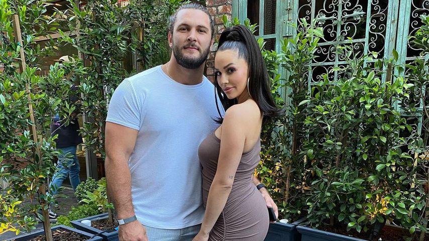 Brock Davies und Scheana Shay im Juli 2021