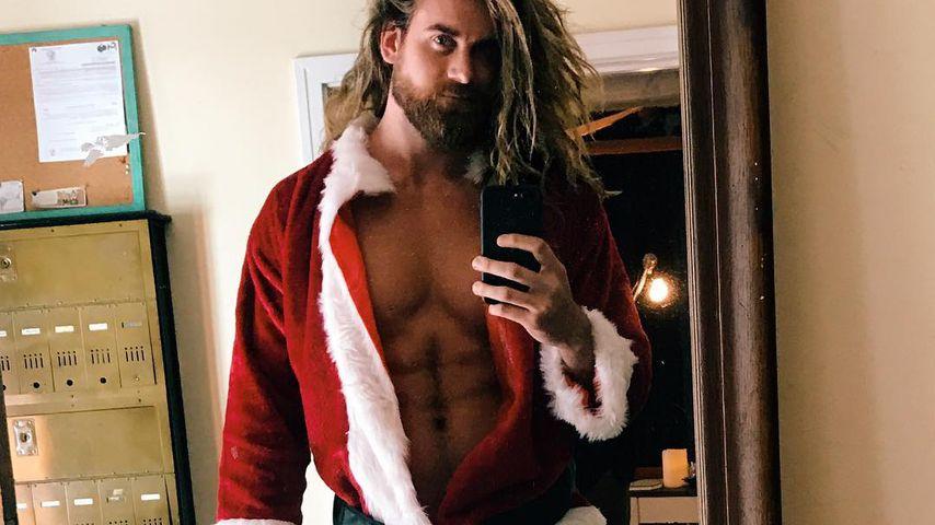 Der heißeste Santa trägt Man-Bun: Brock O'Hurn ist ho-ho-hot