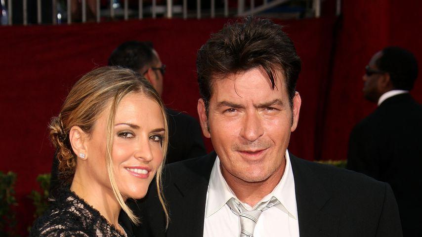 Brooke Mueller und Charlie Sheen, 2009