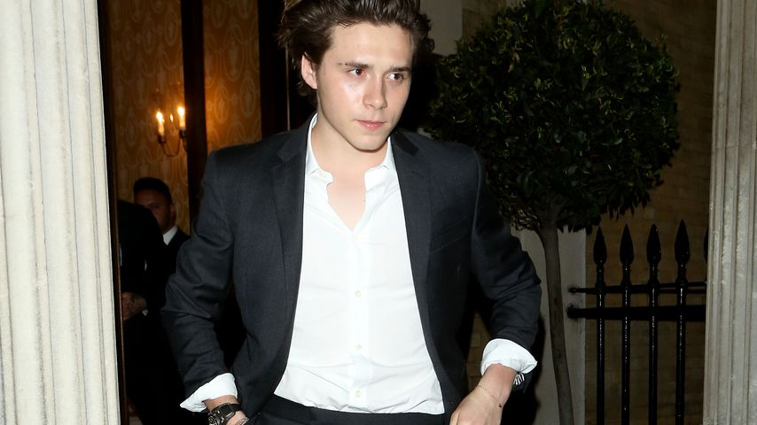 Brooklyn Beckham in London