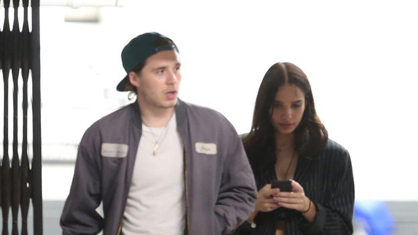 Brooklyn Beckham und Hana Cross
