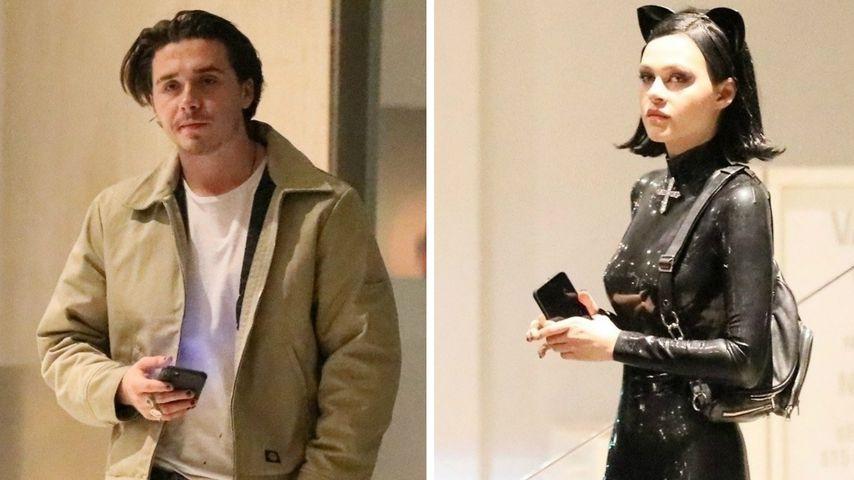 Sexy Catwoman: Brooklyn Beckham wieder mit Nicola unterwegs
