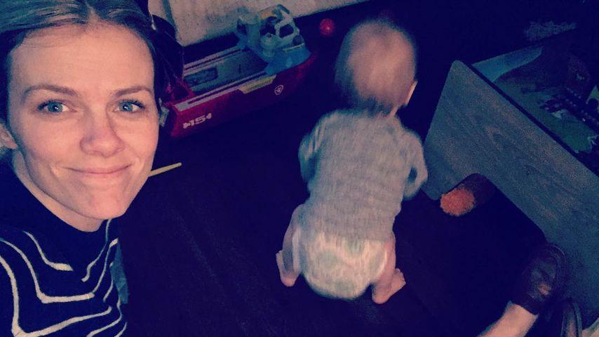 Brooklyn Decker mit ihrem Sohn, Januar 2019