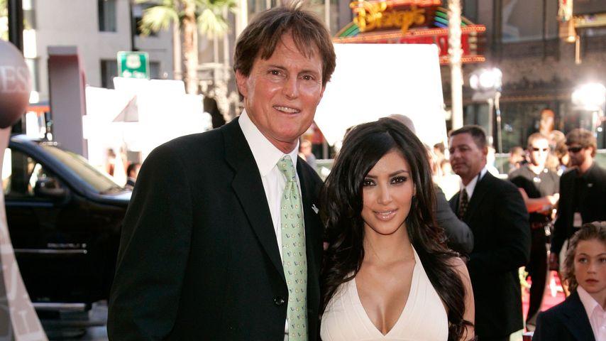 Bruce Jenner und Kim Kardashian bei den Espy Awards im Juli 2006