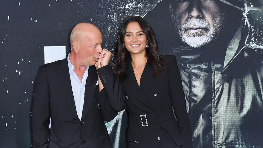 """Bruce Willis und seine Frau Emma bei der Premiere von """"Glass"""" in New York City"""