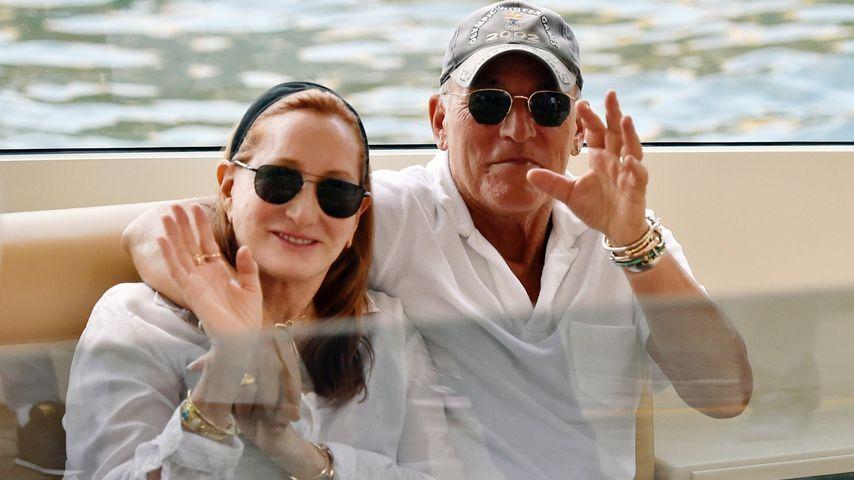 Bruce Springsteen mit Patti Scialfa in Portofino (Italien)
