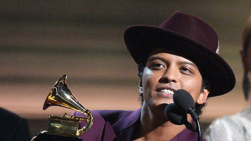 Bruno Mars bei den Grammy Awards