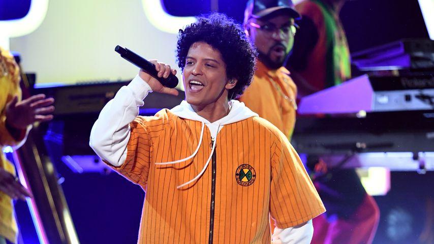 Bruno Mars, Januar 2018