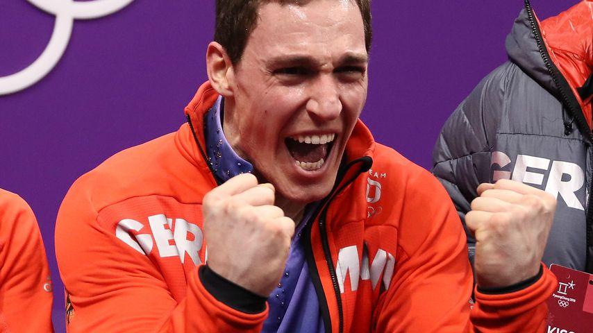 Nach Gold mit Aljona: Eiskunstläufer Bruno Massot wird Papa