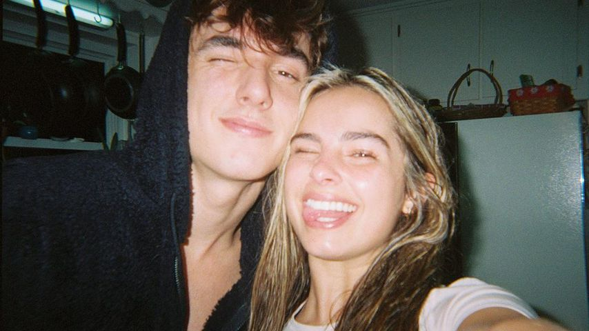 Bryce Hall und Addison Rae im Januar 2020