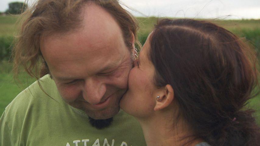 """Mit Schuss zum Kuss! Süße Belohnung bei """"Bauer sucht Frau"""""""