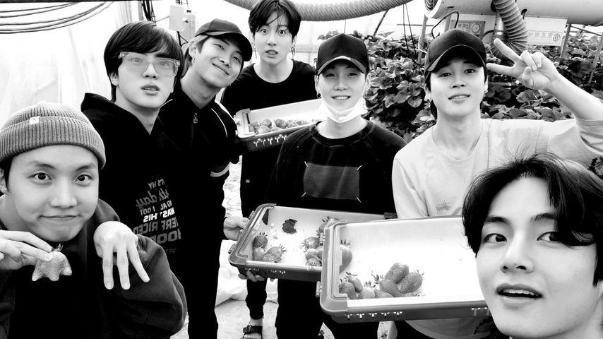 BTS, 2020 (v.l.n.r.: J-Hope, Jin, RM, Jungkook, Suga, Jimin, V)