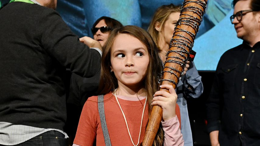"""The Walking Dead""-Star Cailey Fleming während der New Yorker Comic Con, 2019"
