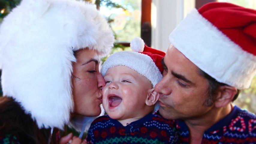 Caitlin McHugh, John Stamos und ihr gemeinsamer Sohn Billy