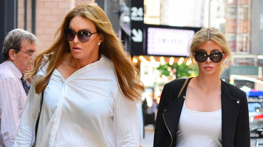 Caitlyn Jenner und Sophia Hutchins in New York