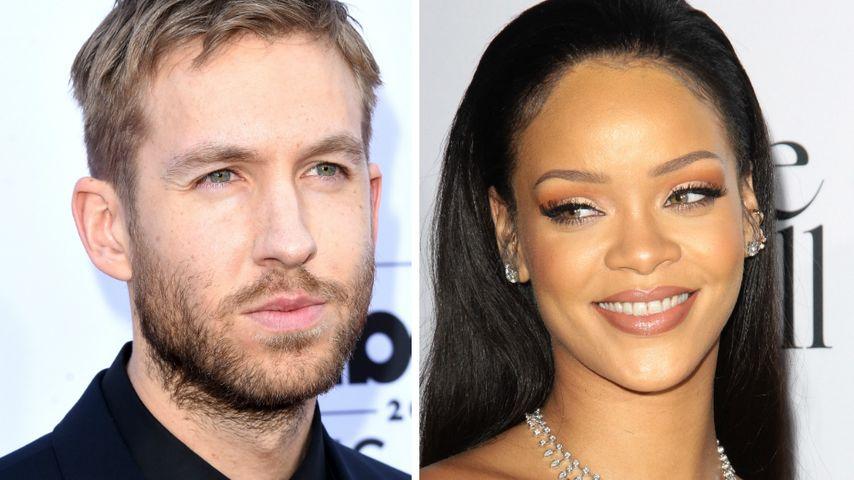 Wegen Hiddleswift: Calvin Harris tröstet sich mit Rihanna!