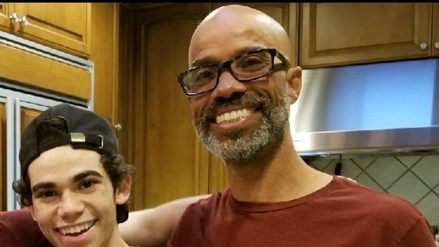 Cameron Boyce mit seinem Vater Victor