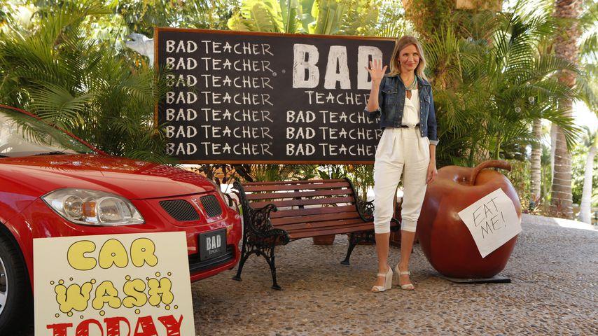 """Schauspielerin Cameron Diaz während einer """"Bad Teacher""""-Veranstaltung 2011"""