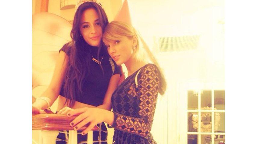 Die Freundinnen Camila Cabello und Taylor Swift