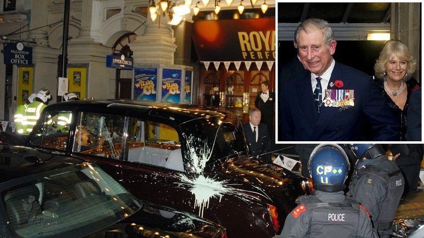 Angriff auf Prinz Charles und Camilla