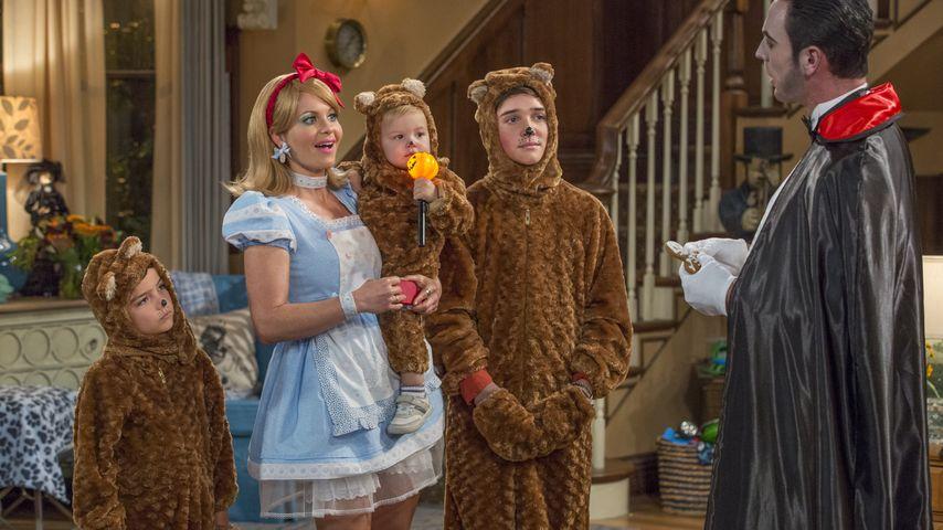 Candace Cameron Bure als D.J. Tanner-Fuller mit ihren Söhnen