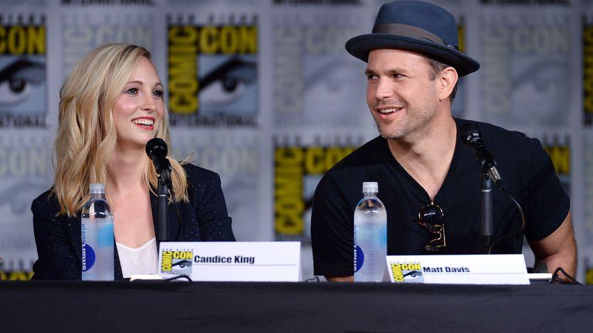 Candice King und Matt Davis auf der Comic-Con 2016
