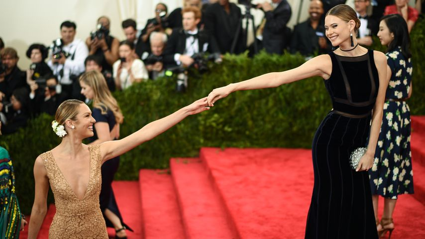 Candice Swanepoel und Behati Prinsloo