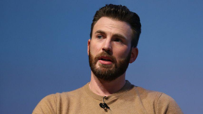 """""""Captain America""""-Star Chris Evans in San Francisco im November 2019"""